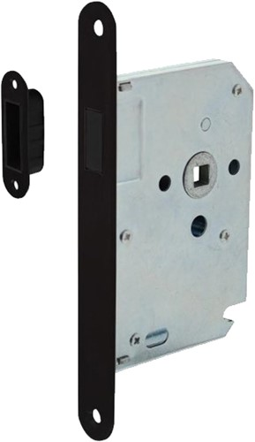SNC standaard magneetslot loopslot - Zwart