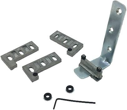 Aanhaaksysteem 2000 voor parallel schuifdeuren