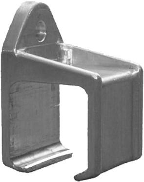 351050: raildrager - wandmontage - serie 0 tot 200 kg
