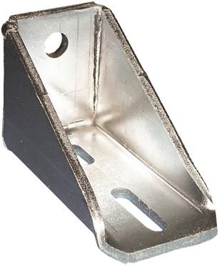 351053: verstelbare - dubbele raildrager - wandmontage - serie 0 tot 200 kg