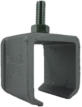 351290: raildrager met draadeind M8 30 mm - plafondmontage - serie 0 tot 200 kg