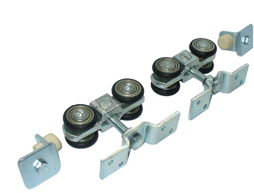 362001: geluidsdempende ophangset - plafondmontage - serie 0 tot 200 kg