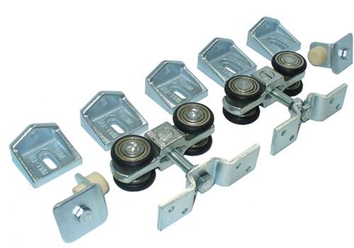 362002: geluidsdempende ophangset  - wandmontage - serie 0 tot 200 kg