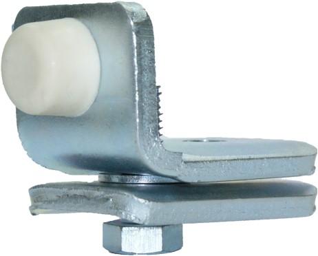 430113: eindstop - montage in de rail - serie 1 tot 600 kg