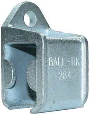 430284: raildrager met railstop links - wandmontage - serie 1 tot 600 kg