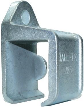 430285: raildrager met railstop rechts - wandmontage - serie 1 tot 600 kg