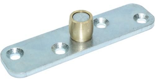 Schuifdeur ondergeleider op plaat: 432405