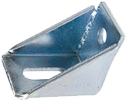 435054: verstelbare raildrager - wandmontage - serie 1 tot 600 kg