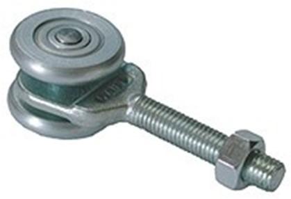 435401: enkele hangrol met draadeind M12 56 mm - serie 1 tot 600 kg