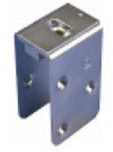 451012: RVS bevestigingsplaat - serie 1 RVS tot 600 kg