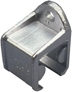 570292: raildrager met railstop rechts - wandmontage - serie 2 tot 1000 kg
