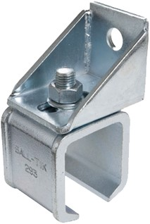 571290: verstelbare raildrager - wandmontage - serie 2 tot 1000 kg