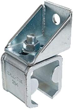 571291: verstelbare raildrager met eindstop - wandmontage - serie 2 tot 1000 kg