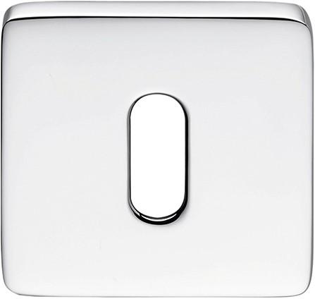 Colombo Design PT13BB - Vierkant afgerond baardrozet - 10 mm/Chroom glanzend
