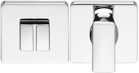 Colombo Design BT19BZG6 - Toiletgarnituur vierkant - Chroom glanzend