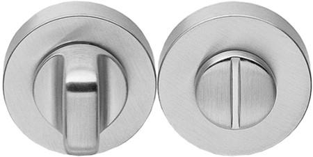 Colombo Design CD69BZGG - Toiletgarnituur rond - Chroom mat