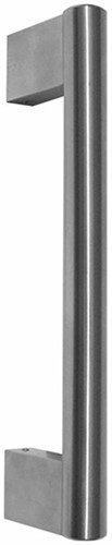 I3330 RVS deurgreep - 500 mm - enkel