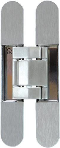 Kubica scharnier K7120 - Staal effect