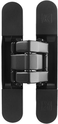 Kubica scharnier K8080 - Mat zwart