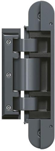 Tectus Glas scharnier TEG 310 - 60 kg - Pure Grey