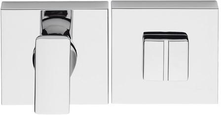 Toilet vrij/bezet rozet 10mm - vierkant