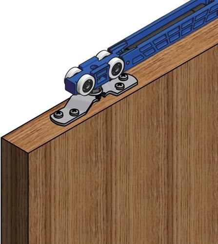 ROB Totaalset Expert Basic Superior 80 kg met softclose en 3 meter rail