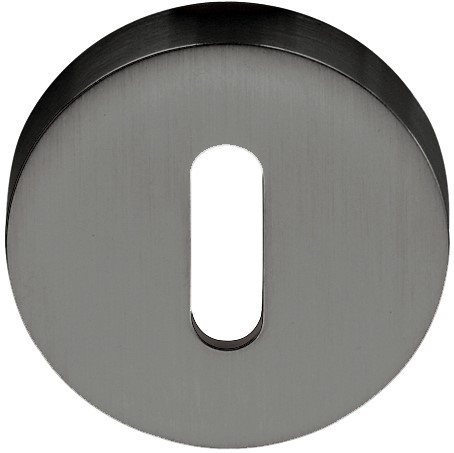 Colombo Design CD1043 - Baardrozet rond - Grafiet mat