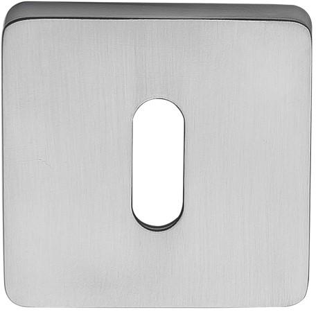 Colombo Design PT13BB  - Vierkant afgerond baardrozet - 10 mm/Chroom mat