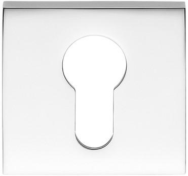 Cilinderrozet 6.5mm - vierkant