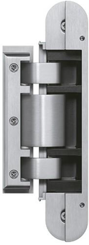 Tectus Glas scharnier TEG 310 - 80 kg - RVS