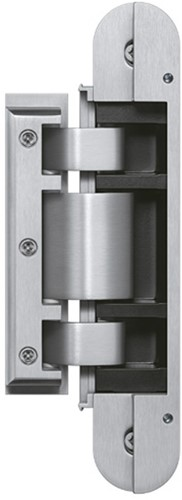 Tectus Glas scharnier TEG 310 - 60 kg - RVS