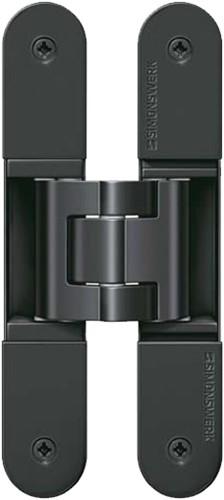 Tectus scharnier TE 340 - Mat zwart (RAL 9005)