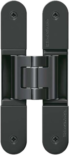 Tectus scharnier TE540 A8 - Mat zwart