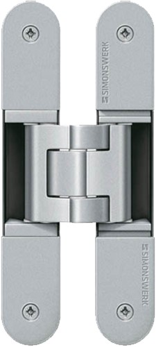 Tectus scharnier TE540 A8 - Chroom mat