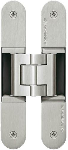 Tectus scharnier TE540 A8 - Nikkel mat