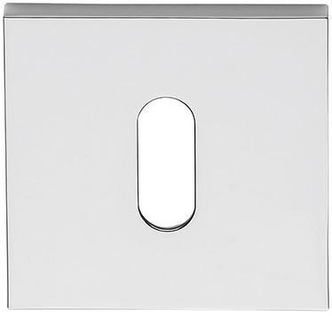 Baardrozet 6.5mm - vierkant - Chroom glanzend - FF23BB-CR