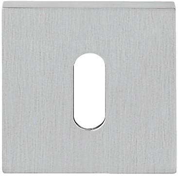 Baardrozet 6.5mm - vierkant - Chroom mat - FF23BB-CM