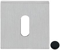 Baardrozet 6.5mm - vierkant - Zwart mat - FF23BB-NM