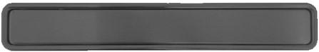 Xinnix XA-H160.B ingewerkte handgreep - zwart