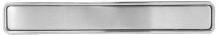 Xinnix XA-H160.NS ingewerkte handgreep - nikkel mat