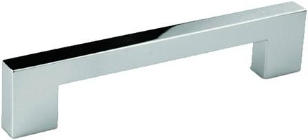 Z0130 meubelgreep chroom glimmend - 128 mm