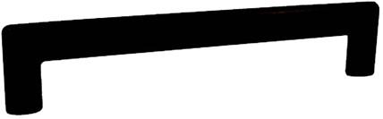 Z0166 RVS meubelgreep zwart