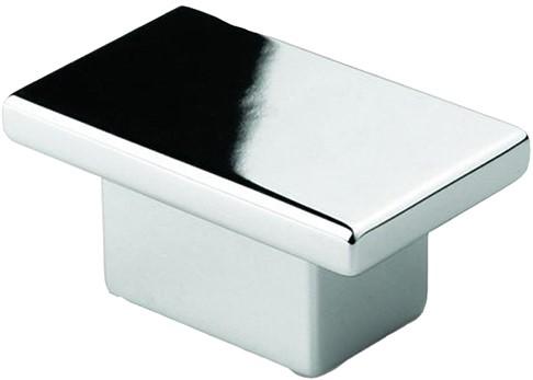 Z2079 meubelknop chroom glimmend - 16 mm