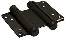 Dubbelwerkend bommerscharnier deurdikte 30-35 mm - Zwart gelakt