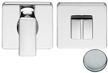 Colombo Design BT19BZG6 - Toiletgarnituur vierkant - Chroom mat