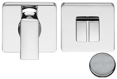 Colombo Design BT19BZG6 - Toiletgarnituur vierkant - RVS
