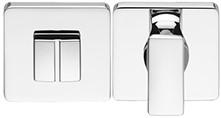 Toilet vrij/bezet rozet 6.5mm - vierkant afgerond