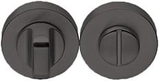 Colombo Design CD49BZG6G - Toiletrozet rond - Grafiet mat