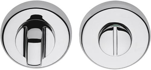 Colombo Design CD69BZGG - Toiletgarnituur rond - Chroom glanzend