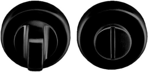 Colombo Design CD69BZGG - Toiletgarnituur rond - Zwart mat
